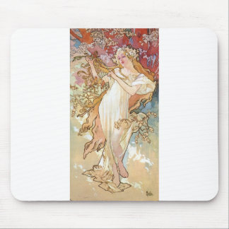 Spring by Mucha Mouse Pad