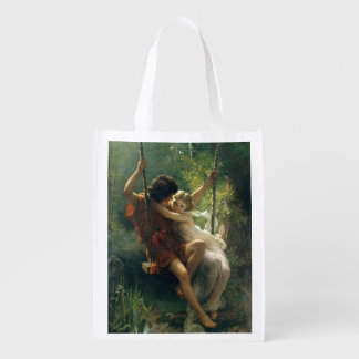 Spring by Pierre Auguste Cot Grocery Bag