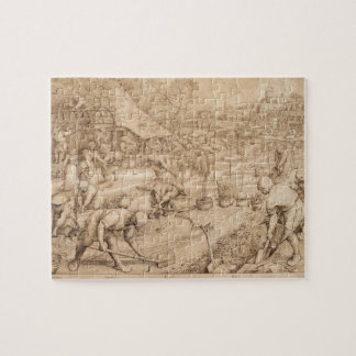 Spring by Pieter Bruegel the Elder Jigsaw Puzzle