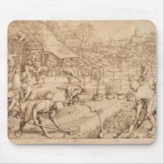 Spring by Pieter Bruegel the Elder Mouse Pad