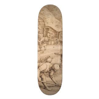 Spring by Pieter Bruegel the Elder Skate Decks