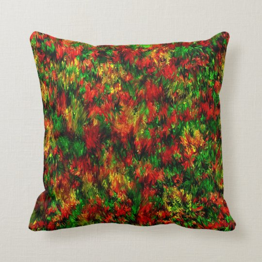 spring by rafi talby throw pillow