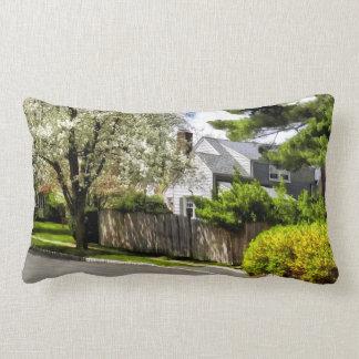 Spring Came Late This Year Lumbar Pillow