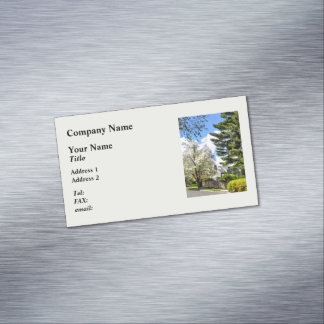 Spring Came Late This Year Magnetic Business Cards (Pack Of 25)