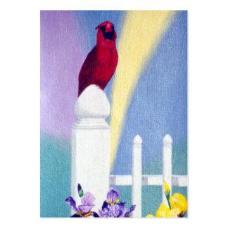 Spring Cardinal Art Card Large Business Card