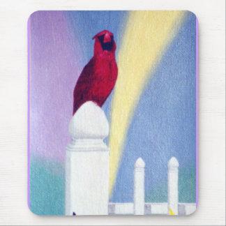 Spring Cardinal Mousepad