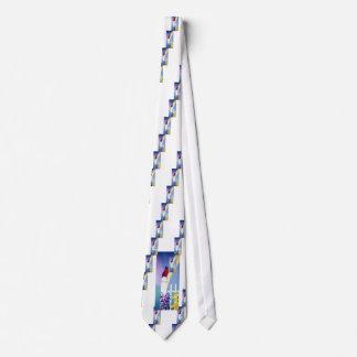 Spring Cardinal Tie