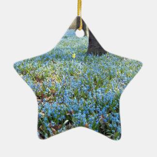 Spring Carpet Ceramic Ornament