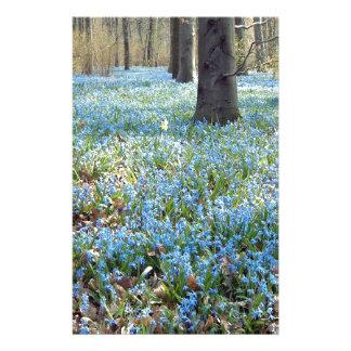 Spring Carpet Stationery Paper