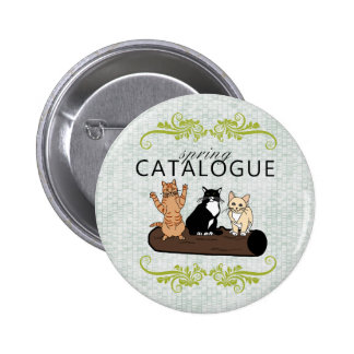 Spring Catalogue Pinback Button