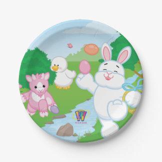Spring Celebration Egg Hunt Paper Plate