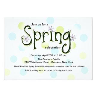 Spring Celebration Invitation