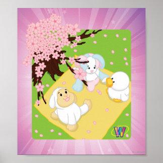 Spring Celebration Picnic Poster