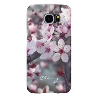Spring Cherry Blossom Sakura Nature Floral Stylish Samsung Galaxy S6 Cases