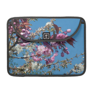 spring cherry blossom tree in blue sky MacBook pro sleeves