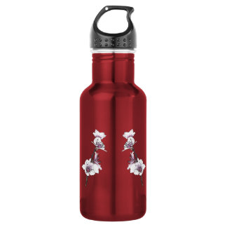 Spring Cherry Blossoms Water Bottle
