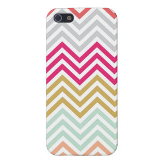 Spring Chevron Case Cases For iPhone 5