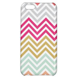 Spring Chevron Case iPhone 5C Case