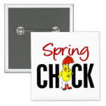 Spring Chick Buttons