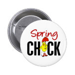 Spring Chick Pin