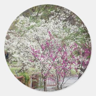 Spring Classic Round Sticker