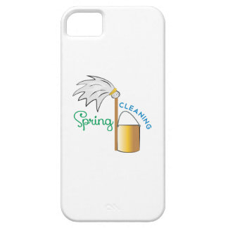 Spring Cleaning iPhone 5 Cover