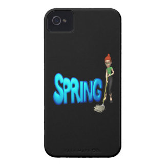 Spring Cleaning iPhone 4 Case-Mate Cases