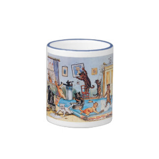 Spring Cleaning Ringer Coffee Mug