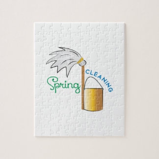 Spring Cleaning Jigsaw Puzzle