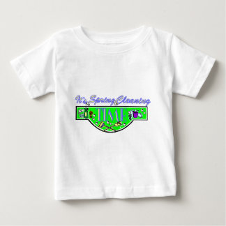 spring cleaning time baby T-Shirt