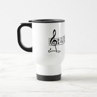 Spring Clef Travel Mug
