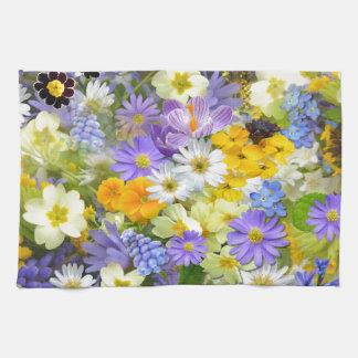 Spring Collage Towel