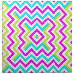 Spring color Chevron pattern Cloth Napkin