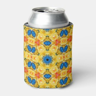Spring Colorful Can Cooler