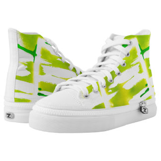 Spring Colors High-Top Sneakers