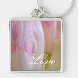 Spring Colors- Love Keychain