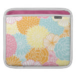 Spring Colors Mod Floral Sleeves For iPads