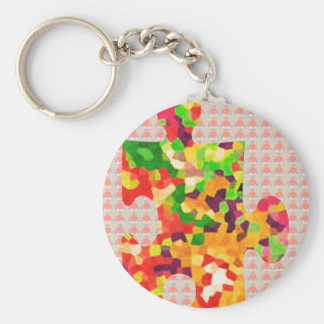 SPRING COLORS Puzzle Quiz Game ART lowprice GIFTS Keychain