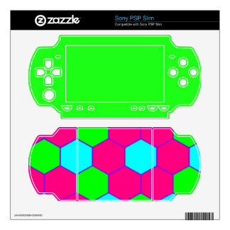 Spring Colors Sony PSP Slim Decals