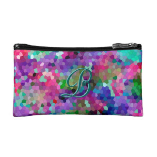 Spring Colors Stained Glass Cosmetic Bags