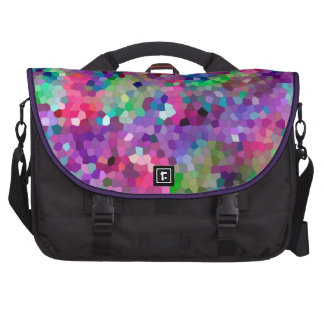 Spring Colors Stained Glass Laptop Bag