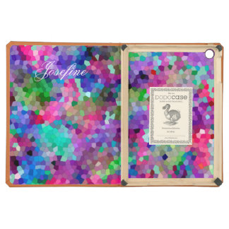 Spring Colors Stained Glass Mosaic iPad Air Case