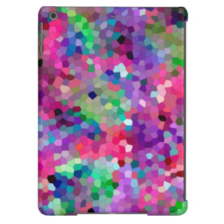 Spring Colors Stained Glass Mosaic iPad Air Covers