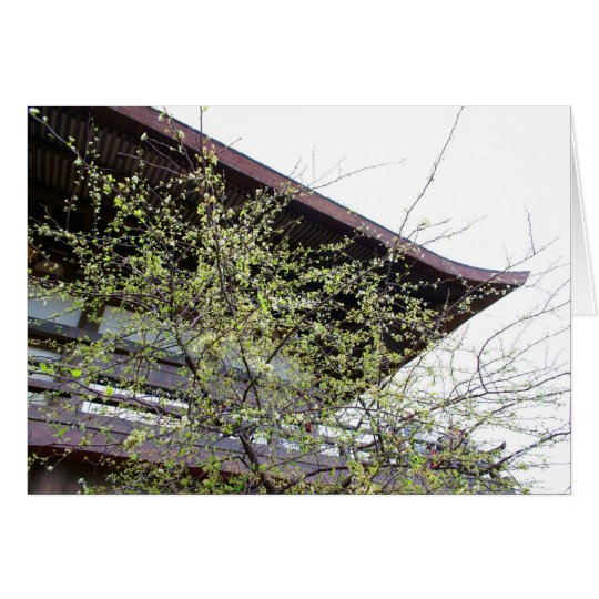 Spring come to Japan Card
