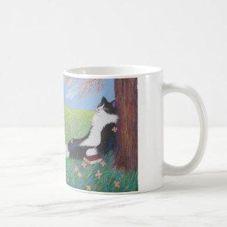 SPRING COMES AT LAST! CLASSIC WHITE COFFEE MUG