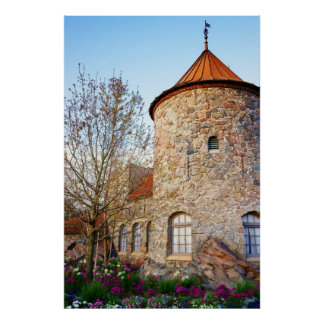 Spring comes to the Castle 2 Print