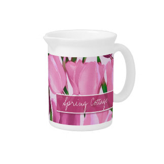 Spring Cottage. Mother's Day Gift Pitcher
