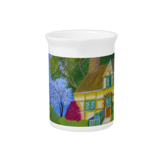 Spring Cottage Pitcher