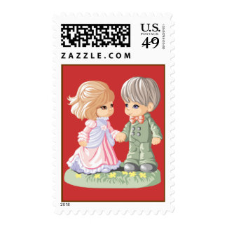 Spring Couple Stamp