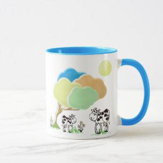 Spring Cow and Calf Mug